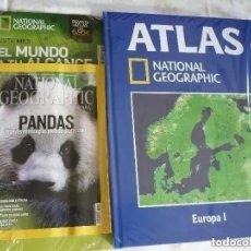 Coleccionismo de National Geographic: NATIONAL GEOGRAPHIC SEPTIEMBRE 2012 + ATLAS DE EUROPA. Lote 214475788