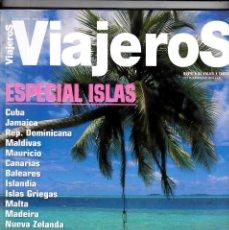 Coleccionismo de National Geographic: REVISTA VIAJEROS Nº 116 JUNIO - JULIO 2004· ESPECIAL ISLAS Y CRUCEROS (160 PÁGINAS). Lote 215017298