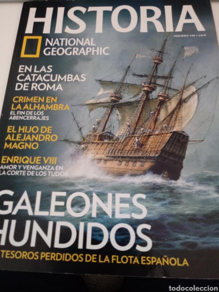 NUM 146.REVISTA HISTORIA DE NATIONAL GEOGRAPHIC (Coleccionismo - Revistas y Periódicos Modernos (a partir de 1.940) - Revista National Geographic)