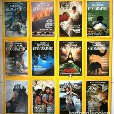 Coleccionismo de National Geographic: 12 REVISTAS NATIONAL GEOGRAPHIC (AÑO 1989 COMPLETO) EDICIÓN ORIGINAL NORTEAMERICANA EN INGLÉS. Lote 216859321