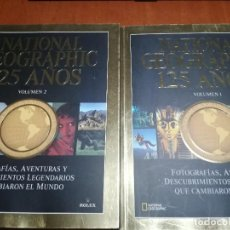 Coleccionismo de National Geographic: NATIONAL GEOGRAPHIC 125 AÑOS. DOS TOMOS. RÚSTICA. BUEN ESTADO. Lote 217957808