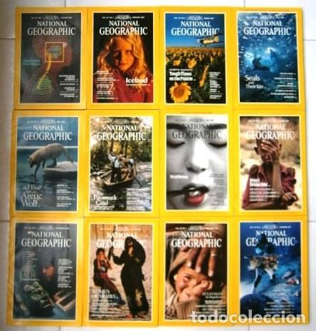 12 REVISTAS NATIONAL GEOGRAPHIC (AÑO 1987 COMPLETO) EDICIÓN ORIGINAL NORTEAMERICANA EN INGLÉS (Coleccionismo - Revistas y Periódicos Modernos (a partir de 1.940) - Revista National Geographic)