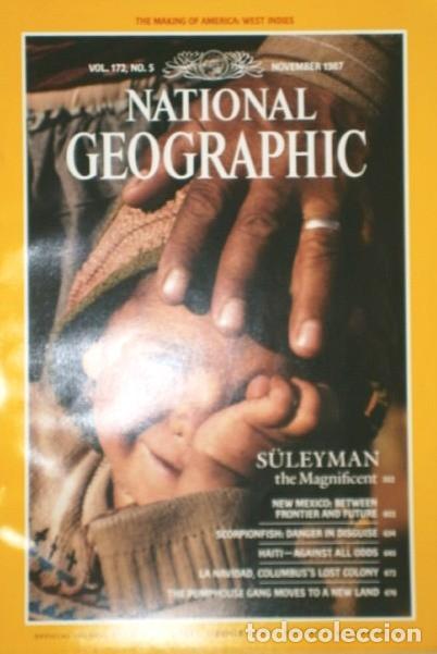 Coleccionismo de National Geographic: 12 Revistas National Geographic (Año 1987 completo) Edición original norteamericana en inglés - Foto 2 - 217989202