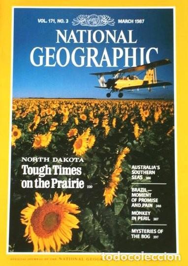 Coleccionismo de National Geographic: 12 Revistas National Geographic (Año 1987 completo) Edición original norteamericana en inglés - Foto 3 - 217989202