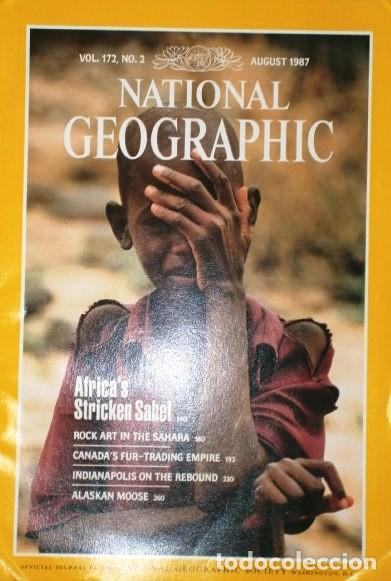 Coleccionismo de National Geographic: 12 Revistas National Geographic (Año 1987 completo) Edición original norteamericana en inglés - Foto 4 - 217989202