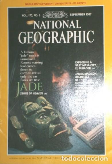 Coleccionismo de National Geographic: 12 Revistas National Geographic (Año 1987 completo) Edición original norteamericana en inglés - Foto 5 - 217989202