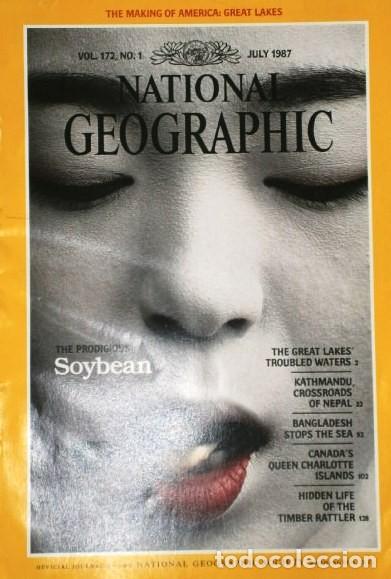 Coleccionismo de National Geographic: 12 Revistas National Geographic (Año 1987 completo) Edición original norteamericana en inglés - Foto 6 - 217989202