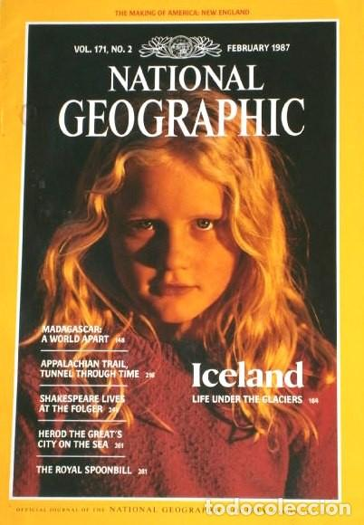 Coleccionismo de National Geographic: 12 Revistas National Geographic (Año 1987 completo) Edición original norteamericana en inglés - Foto 8 - 217989202