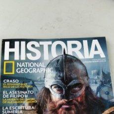 Coleccionismo de National Geographic: HISTORIA NATIONAL GEOGRAPHIC 181 VIKINGOS, GRASO, FILIPO II, GRAVOL 33. Lote 218167612