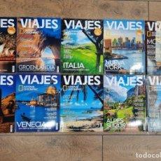 Coleccionismo de National Geographic: LOTE 10 REVISTAS VIAJES NATIONAL GEOGRAPHIC - NUEVAS A ESTRENAR. Lote 218186693