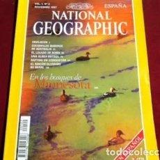 Coleccionismo de National Geographic: REVISTA NATIONAL GEOGRAPHIC ESPAÑA, VOLUMEN I, NOVIEMBRE 1997. Lote 218231603