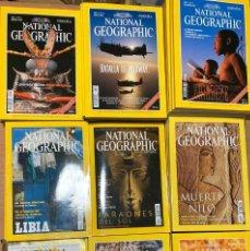 Coleccionismo de National Geographic: 54 REVISTAS DE NATIONAL GEOGRAPHIC. Lote 218539416