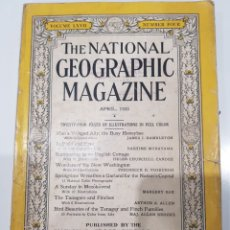 Coleccionismo de National Geographic: THE NATIONAL GEOGRAPHIC, ABRIL 1935. Lote 218904405