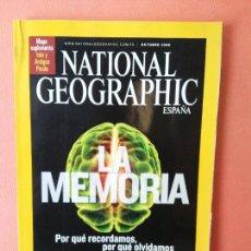 Coleccionismo de National Geographic: NATIONAL GEOGRAPHIC ESPAÑA. LA MEMORIA. OCTUBRE 2008.. Lote 220190437