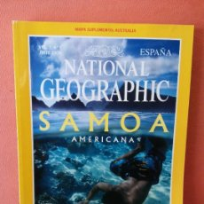 Coleccionismo de National Geographic: NATIONAL GEOGRAPHIC ESPAÑA. SAMOA AMERICANA. JULIO 2000. Lote 220190730