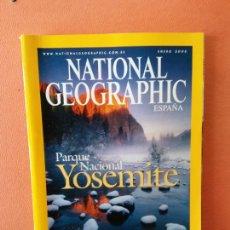 Collectionnisme de National Geographic: NATIONAL GEOGRAPHIC ESPAÑA. PARQUE NACIONAL YOSEMITE. ENERO 2005.. Lote 220310811