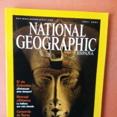 Collectionnisme de National Geographic: NATIONAL GEOGRAPHIC ESPAÑA. FARAONES DEL SOL. ABRIL 2001.. Lote 220345797