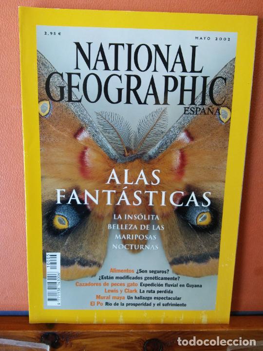 NATIONAL GEOGRAPHIC ESPAÑA. ALAS FANTÁSTICAS. LA INSÓLITA BELLEZA DE LAS MARIPOSAS NOCTURNAS. (Coleccionismo - Revistas y Periódicos Modernos (a partir de 1.940) - Revista National Geographic)