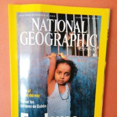 Coleccionismo de National Geographic: NATIONAL GEOGRAPHIC ESPAÑA. ESCLAVOS DEL SIGLO XXI. SEPTIMBRE 2003.. Lote 220349426