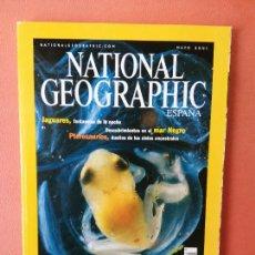 Coleccionismo de National Geographic: NATIONAL GEOGRAPHIC ESPAÑA. EL FRÁGIL MUNDO DE LAS RANAS. MAYO 2001.. Lote 220349486