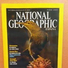 Coleccionismo de National Geographic: NATIONAL GEOGRAPHIC. MARZO 2003. ISLAS DEL PACÍFICO. Lote 220353742