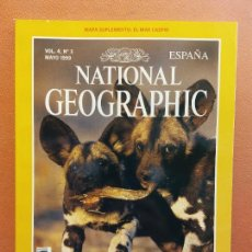 Coleccionismo de National Geographic: NATIONAL GEOGRAPHIC. MAYO 1999. LICAONES. Lote 220355763