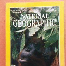 Coleccionismo de National Geographic: NATIONAL GEOGRAPHIC. AGOSTO 1998. ORANGUTANES. Lote 220356363