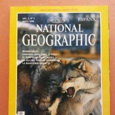 Coleccionismo de National Geographic: NATIONAL GEOGRAPHIC. MAYO 1998. EL REGRESO DEL LOBO. Lote 220356552