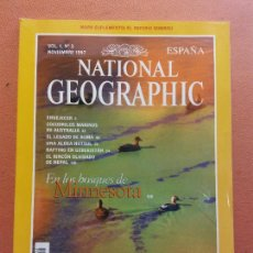 Colecionismo da National Geographic: NATIONAL GEOGRAPHIC.NOVIEMBRE 1997. EN LOS BOSQUES DE MINNESOTA. Lote 220356641