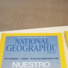 Coleccionismo de National Geographic: G-43 REVISTA NATIONAL GEOGRAPHIC NUESTRO PRIMER VIAJE. Lote 220701513