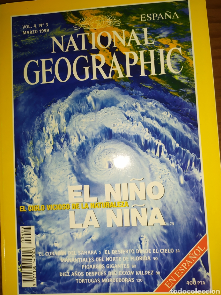 Coleccionismo de National Geographic: Lote seis National Geographic. Vol 4, 1999 - Foto 7 - 220934101