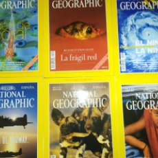 Coleccionismo de National Geographic: LOTE SEIS NATIONAL GEOGRAPHIC. VOL 4, 1999. Lote 220934101