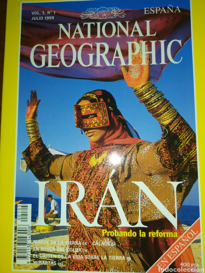 Coleccionismo de National Geographic: Lote de 5 National Geographic, Vol 5, 1999 - Foto 4 - 220934760