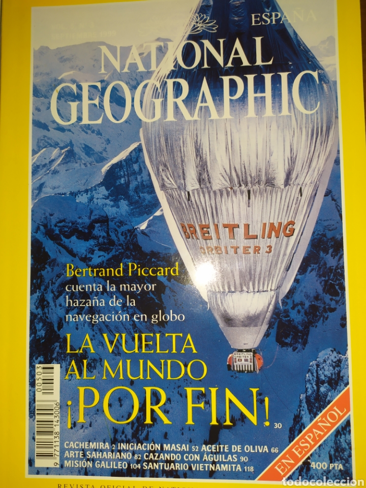 Coleccionismo de National Geographic: Lote de 5 National Geographic, Vol 5, 1999 - Foto 6 - 220934760