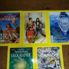 Coleccionismo de National Geographic: LOTE DE 5 NATIONAL GEOGRAPHIC, VOL 5, 1999. Lote 220934760