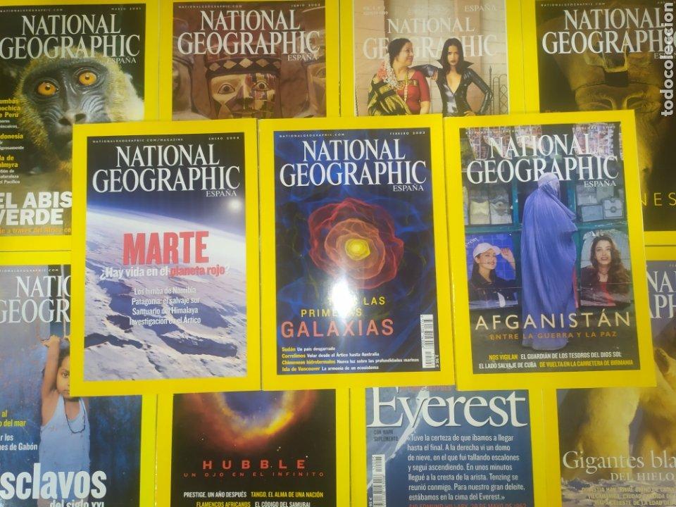 GRAN OPORTUNIDAD, LIQUIDACIÓN DE GRAN LOTE DE 11 NATIONAL GEOGRAPHIC (Coleccionismo - Revistas y Periódicos Modernos (a partir de 1.940) - Revista National Geographic)