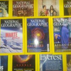 Coleccionismo de National Geographic: GRAN LOTE DE 11 NATIONAL GEOGRAPHIC. Lote 220938771