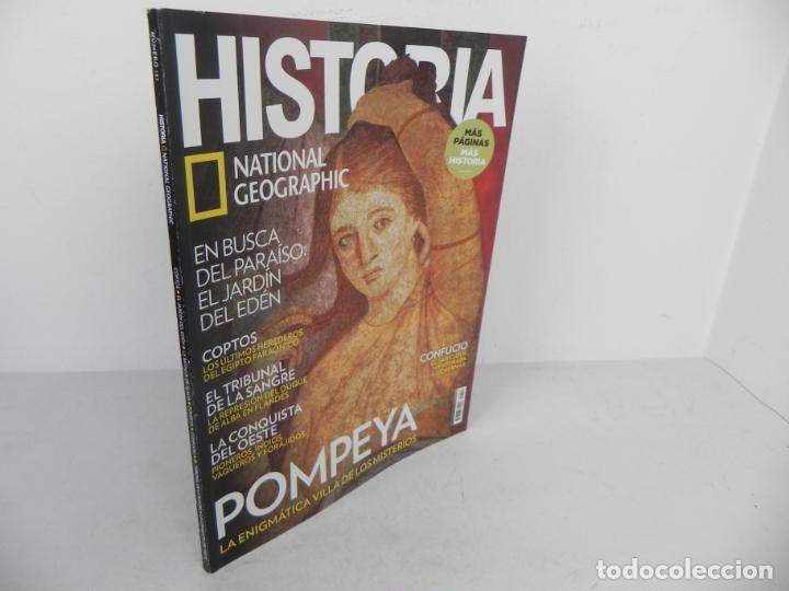 HISTORIA Nº 157 (NATIONAL GEOGRAPHIC) EDICIÓN 01/2017 - POMPEYA - CONFUCIO - JARDIN DEL EDEN - ..... (Coleccionismo - Revistas y Periódicos Modernos (a partir de 1.940) - Revista National Geographic)