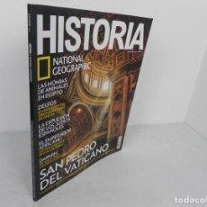 Coleccionismo de National Geographic: HISTORIA Nº 165 (NATIONAL GEOGRAPHIC) EDICIÓN 11/2017-SAN PEDRO DEL VATICANO / MOMIAS ANIMALES /..... Lote 221341930