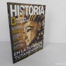 Coleccionismo de National Geographic: HISTORIA Nº 176 (NATIONAL GEOGRAPHIC) EDICIÓN 10/2018-TUMBA DE TUTANKHAMÓN/SALOMON/ JULIO VERNE/..... Lote 221342186