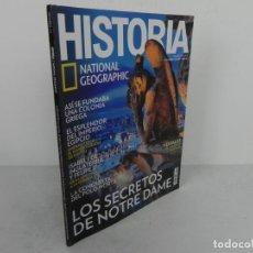 Coleccionismo de National Geographic: HISTORIA Nº 174 (NATIONAL GEOGRAPHIC) EDICIÓN 08/2018-LOS SECRETOS DE NOTRE DAME/AMENHOTEP III /..... Lote 221343057