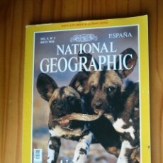 Coleccionismo de National Geographic: NATIONAL GEOGRAPHIC - VOL. 4 - Nº 5 - MAYO 1999 - LICAONES. Lote 221386782