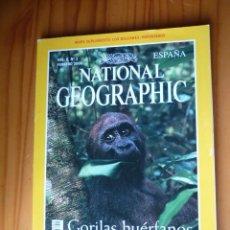 Coleccionismo de National Geographic: NATIONAL GEOGRAPHIC - VOL. 6 - Nº 2 - FEBRERO 2000 - GORILAS HUÉRFANOS. Lote 221400958