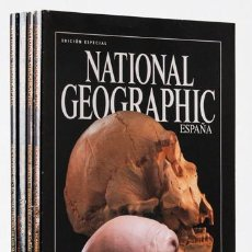 Coleccionismo de National Geographic: MONOGRÁFICOS NATIONAL GEOGRAPHIC (4 NÚMS.) (RBA) (CB). Lote 221645020