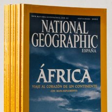 Coleccionismo de National Geographic: REVISTAS NATIONAL GEOGRAPHIC (7 NÚMS.) (RBA) (CB). Lote 221645286