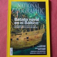 Coleccionismo de National Geographic: NATIONAL GEOGRAPHIC - MAYO 2015 - BATALLA NAVAL EN EL BALTICO. Lote 221753772