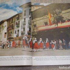 Coleccionismo de National Geographic: LIFE IN THE LAND OF THE BASQUES, NATIONAL GEOGRAPHIC 1954 REPORTAJE DE 40 PÁGINAS COLOR, PAÍS VASCO. Lote 222913505