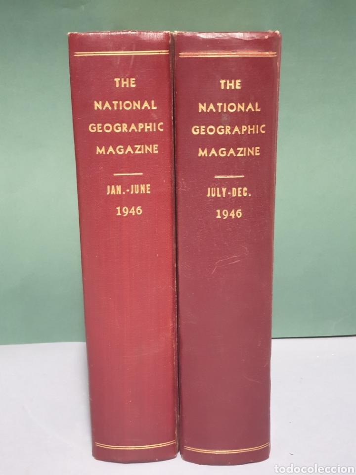 THE NATIONAL GEOGRAPHIC MAGAZINE AÑO 1946 COMPLETO 12 REVISTAS ENCUADERNADAS (Coleccionismo - Revistas y Periódicos Modernos (a partir de 1.940) - Revista National Geographic)