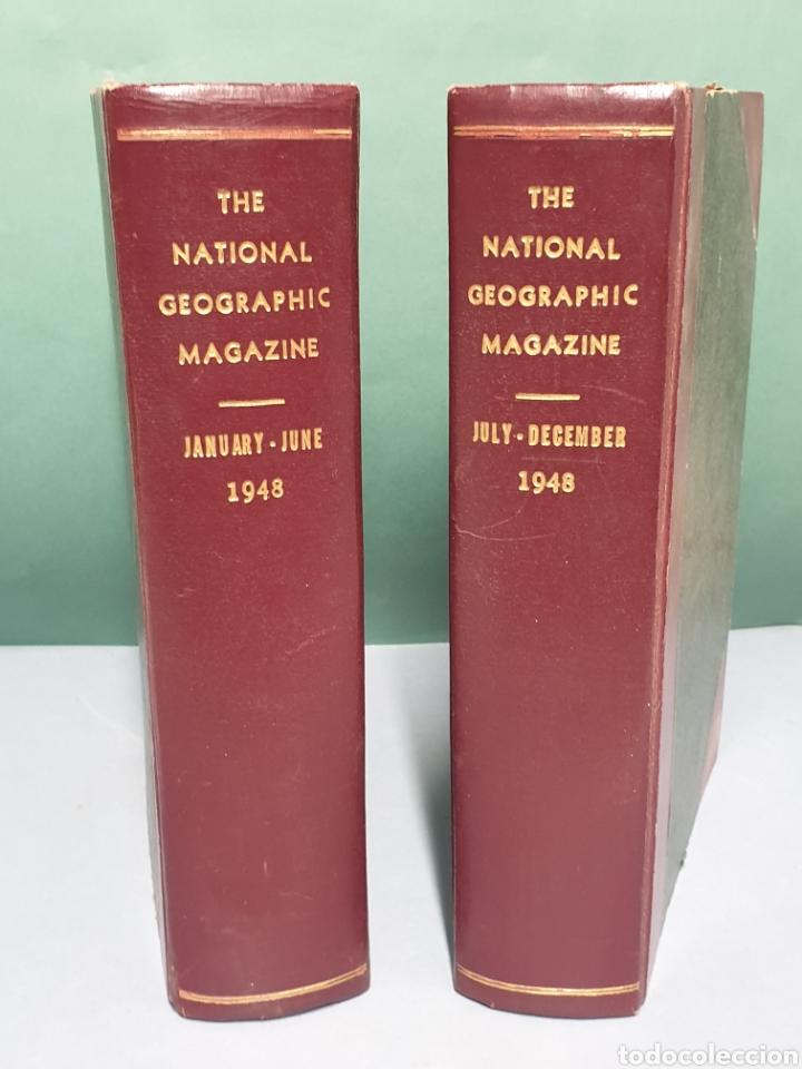THE NATIONAL GEOGRAPHIC MAGAZINE AÑO 1948 COMPLETO 12 REVISTAS CON 2 MAPAS (Coleccionismo - Revistas y Periódicos Modernos (a partir de 1.940) - Revista National Geographic)