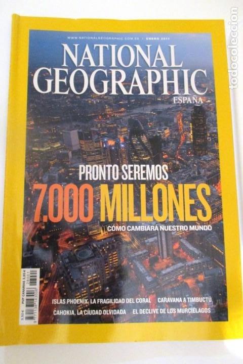 REVISRA NATIONAL GEOGRAPHIC ENERO 2011 (Coleccionismo - Revistas y Periódicos Modernos (a partir de 1.940) - Revista National Geographic)
